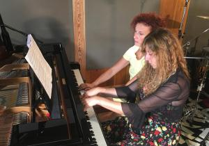 Duo Nuages - Recording Session